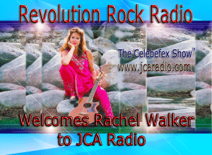 Click to listen to Rachel on JCA Radio